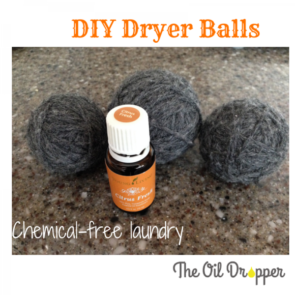 Chemical free wool dryer balls