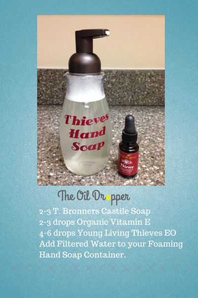 Young Living Diy Foaming Hand Soap The Oil Dropper