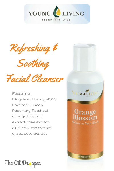 Orange blossom cleanser