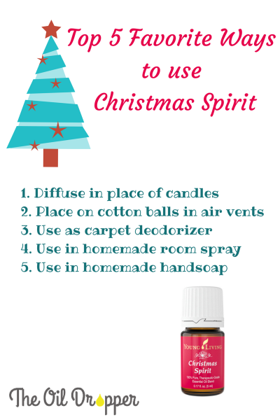Top 5 Ways to Use Christmas Spirit