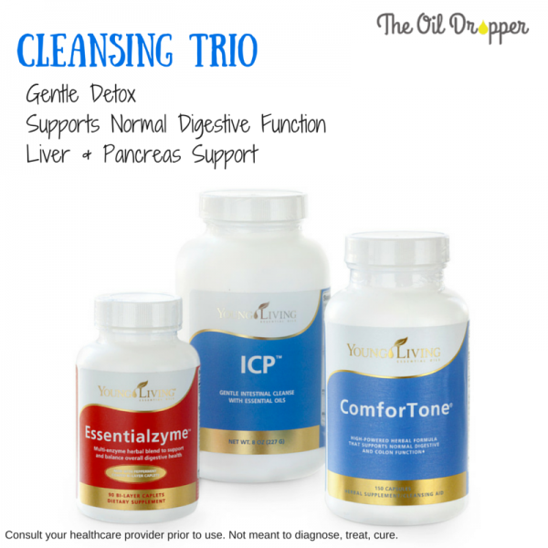 Young Living Cleansing Trio-Detox