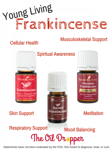 Young Living frankincense 3 varieties