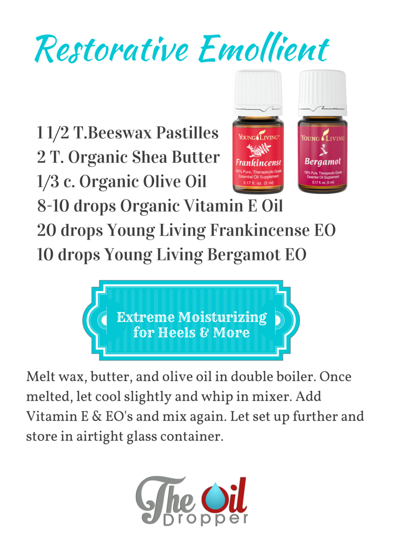 DIY Restorative Emollient Recipe Young Living Oils