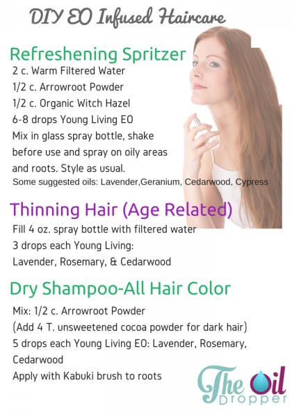 DIY Haircare with Essential Oils - The Oil Dropper