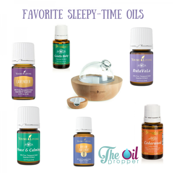 Favorite Sleepy Time Essential Oils