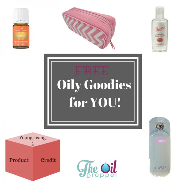 Free Oily Goodies from The Oil Dropper