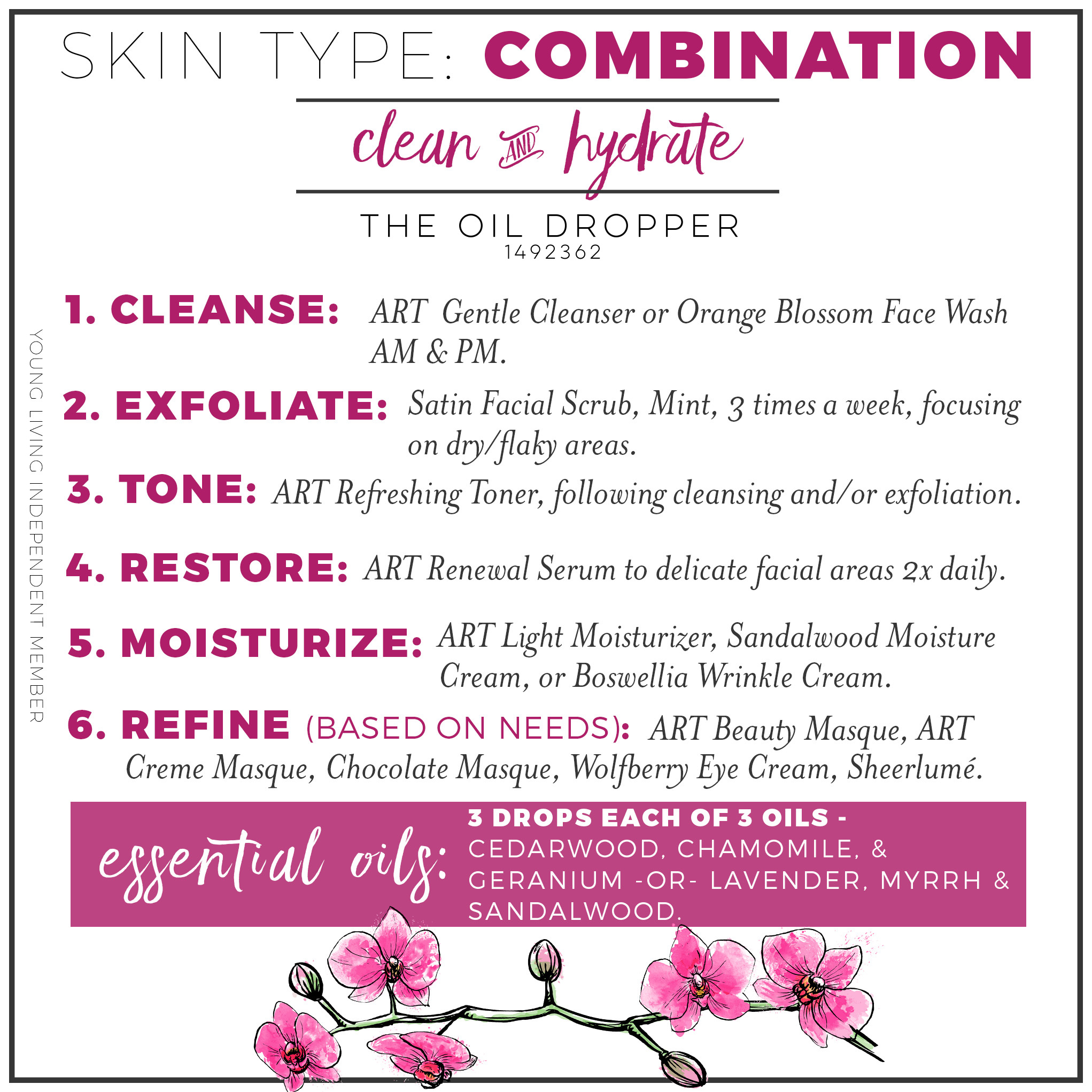 Comparing Young Living Facial Moisturizers The Oil Dropper