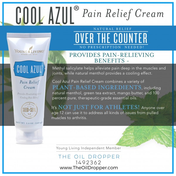 Cool Azul Pain Relief Cream Is Here! - The Oil Dropper