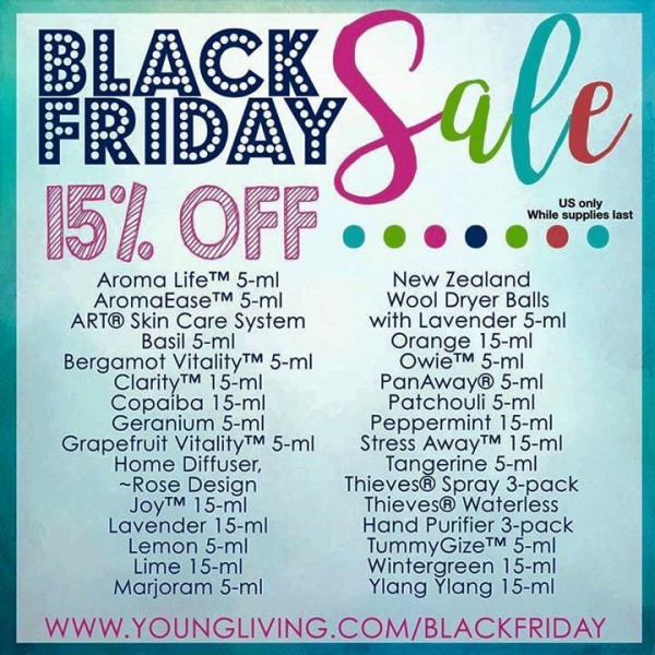 Young-Living-black-friday