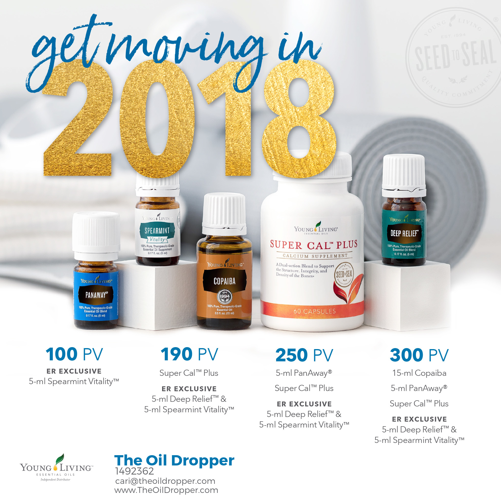 Young Living Diffuser Options: