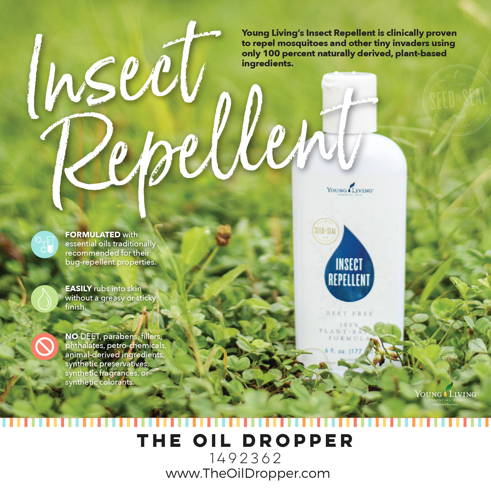 All Natural Insect Repellent The Oil Dropper