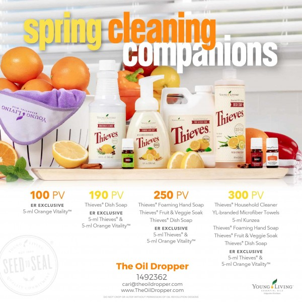 young Living-March-2019-Promotions